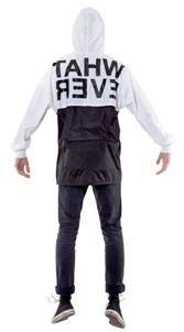 5 preview giacca uomo nera bianca