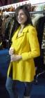 cappotto vintage giallo