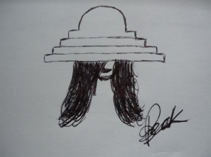 hat's sketch by andrea beck