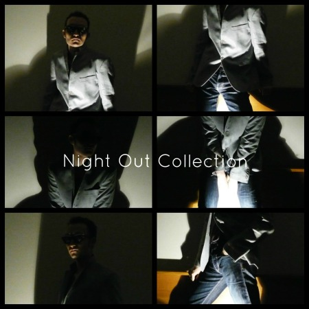 andrea beck pose for Night Out Collection