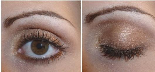 Make up glitter eyes