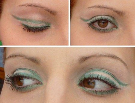 emerald make up eyes