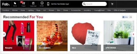 Design Online Shopping http://eu.fab.com/