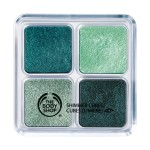 the body shop cubi scintillanti green