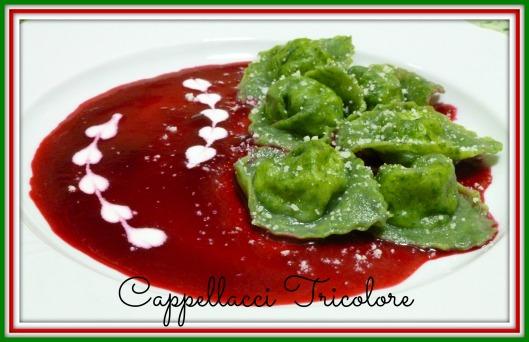 Cappellacci Tricolore