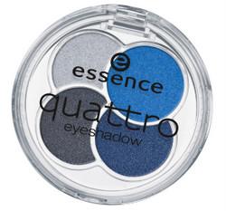 essence quattro eyeshadow n.9 denim