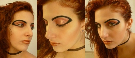 metallic make up