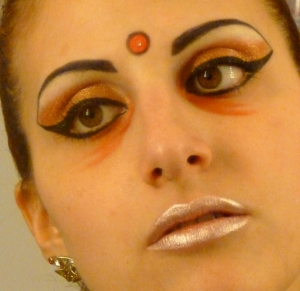 indian make up look