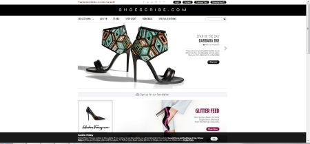 shoescribe homepage