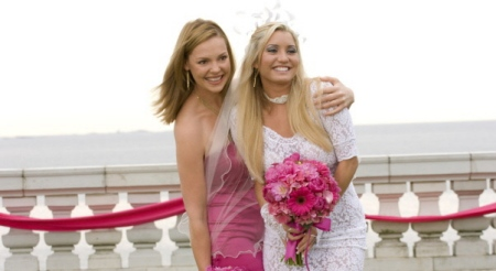 27dresses bride and bridesmaid