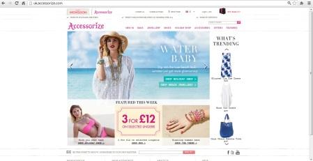 homepage accessorize