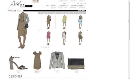 homepage atelieronweb