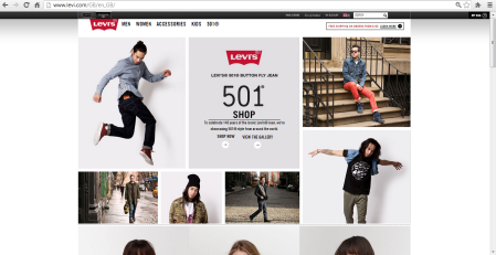 homepage levis